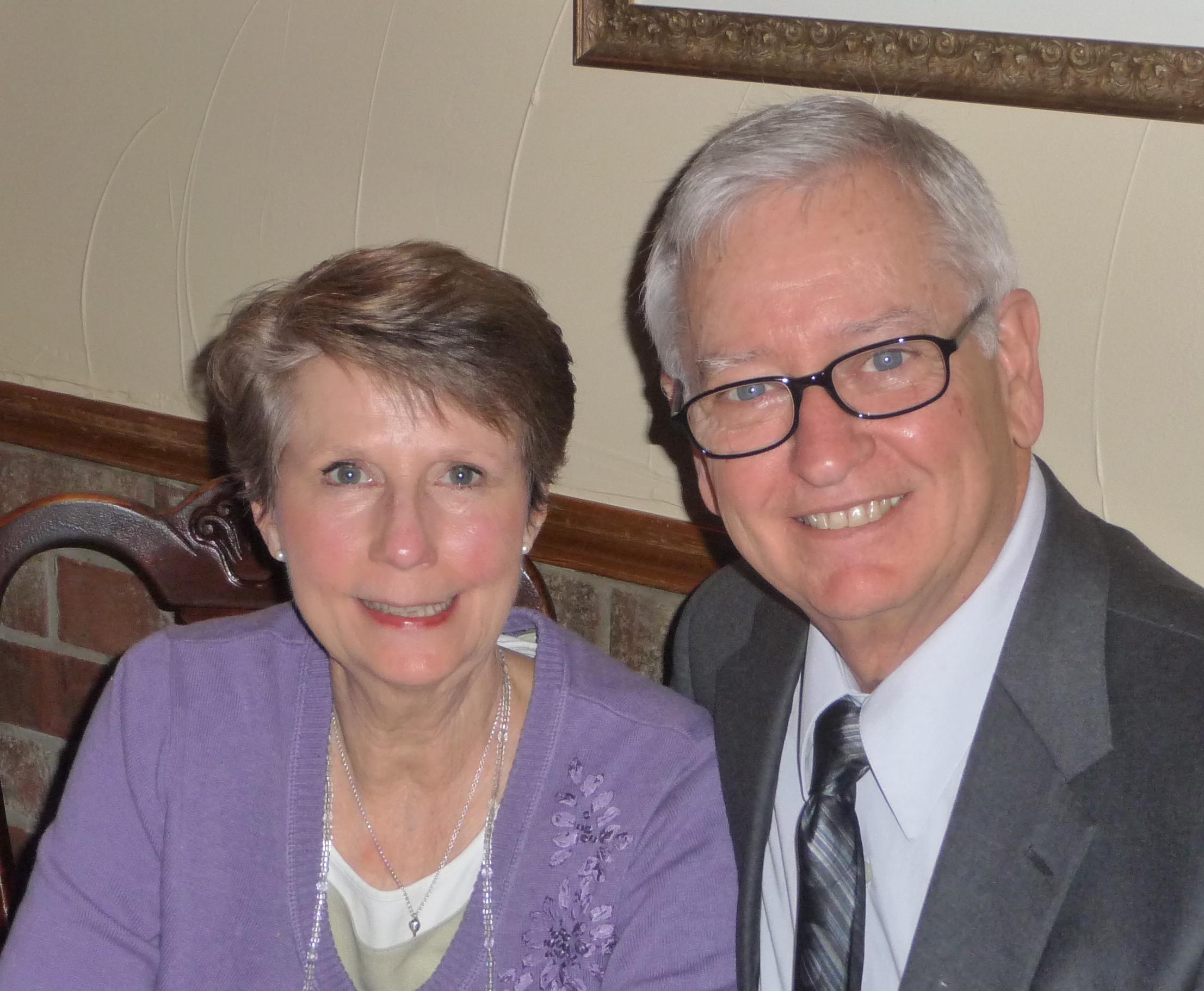 Dr. Robert and Mrs. Carel Shehane